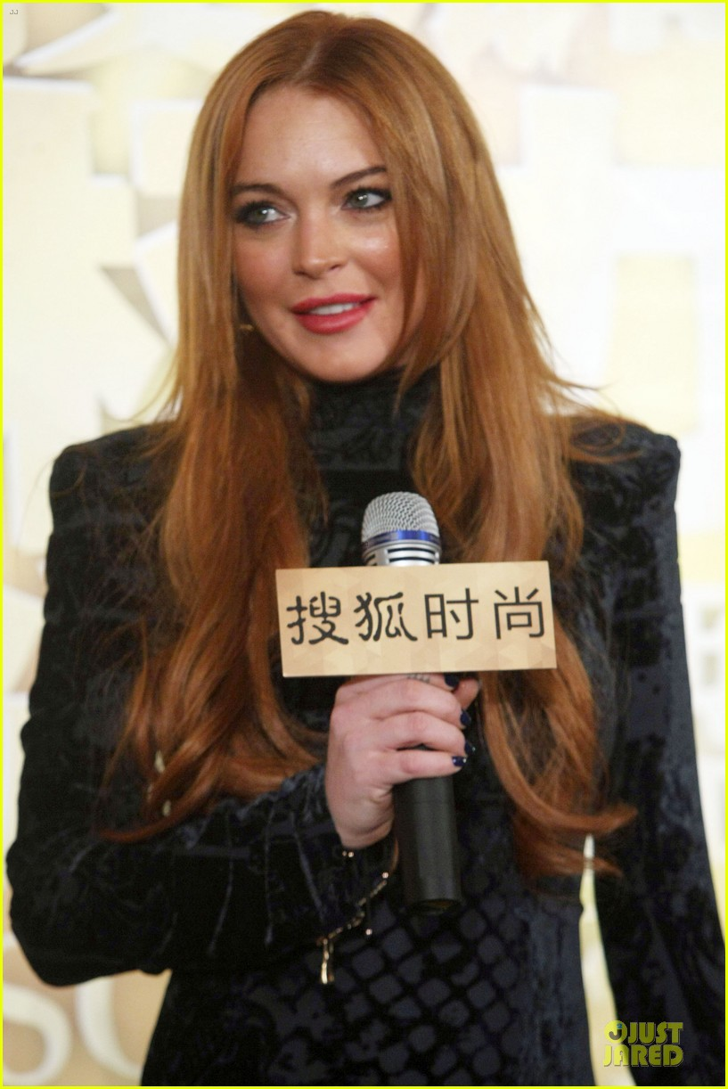 lindsay lohan sohu fashion achievement awards ceremony 09