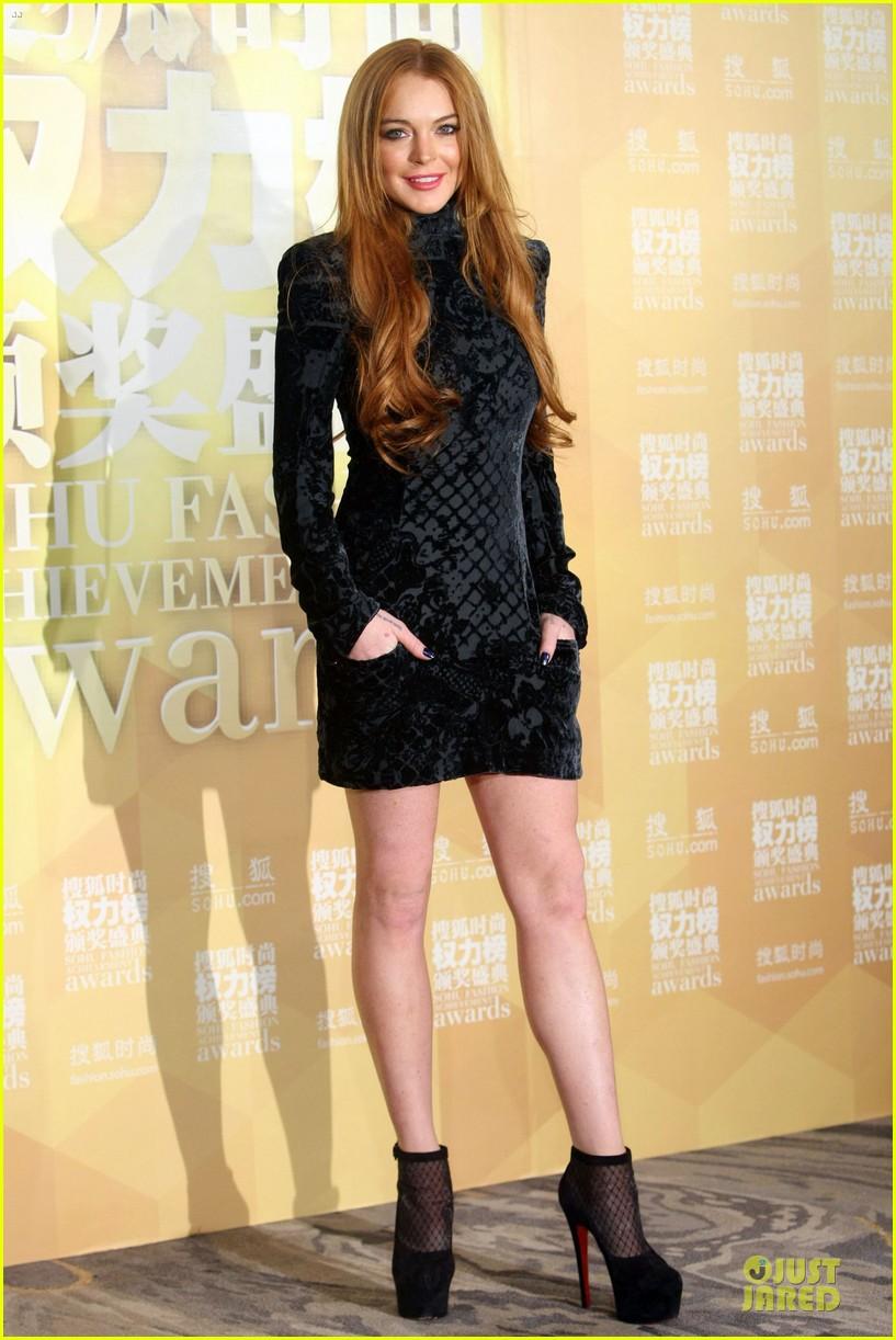 lindsay lohan sohu fashion achievement awards ceremony 163024172