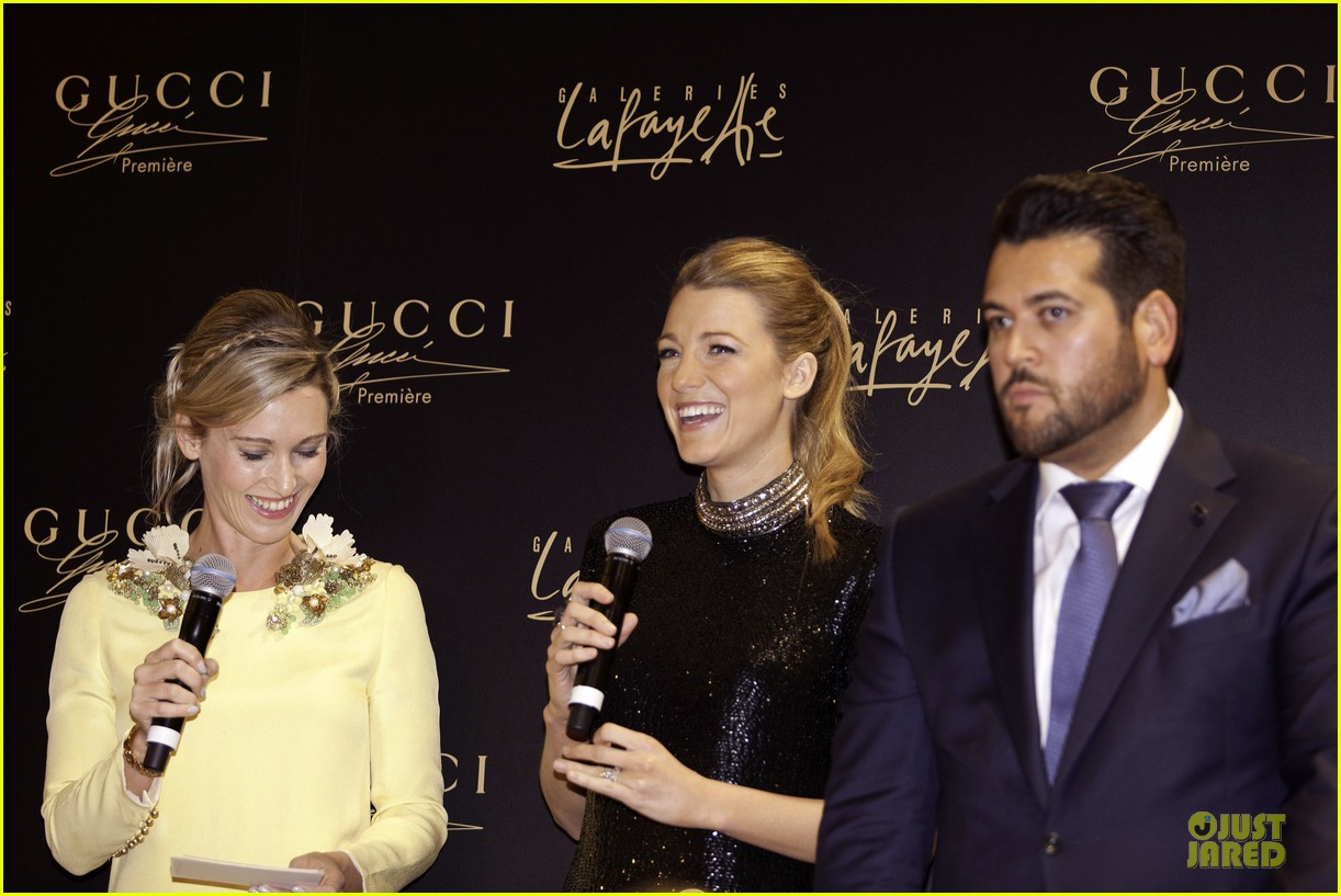 blake lively gucci premiere photo call 053022132