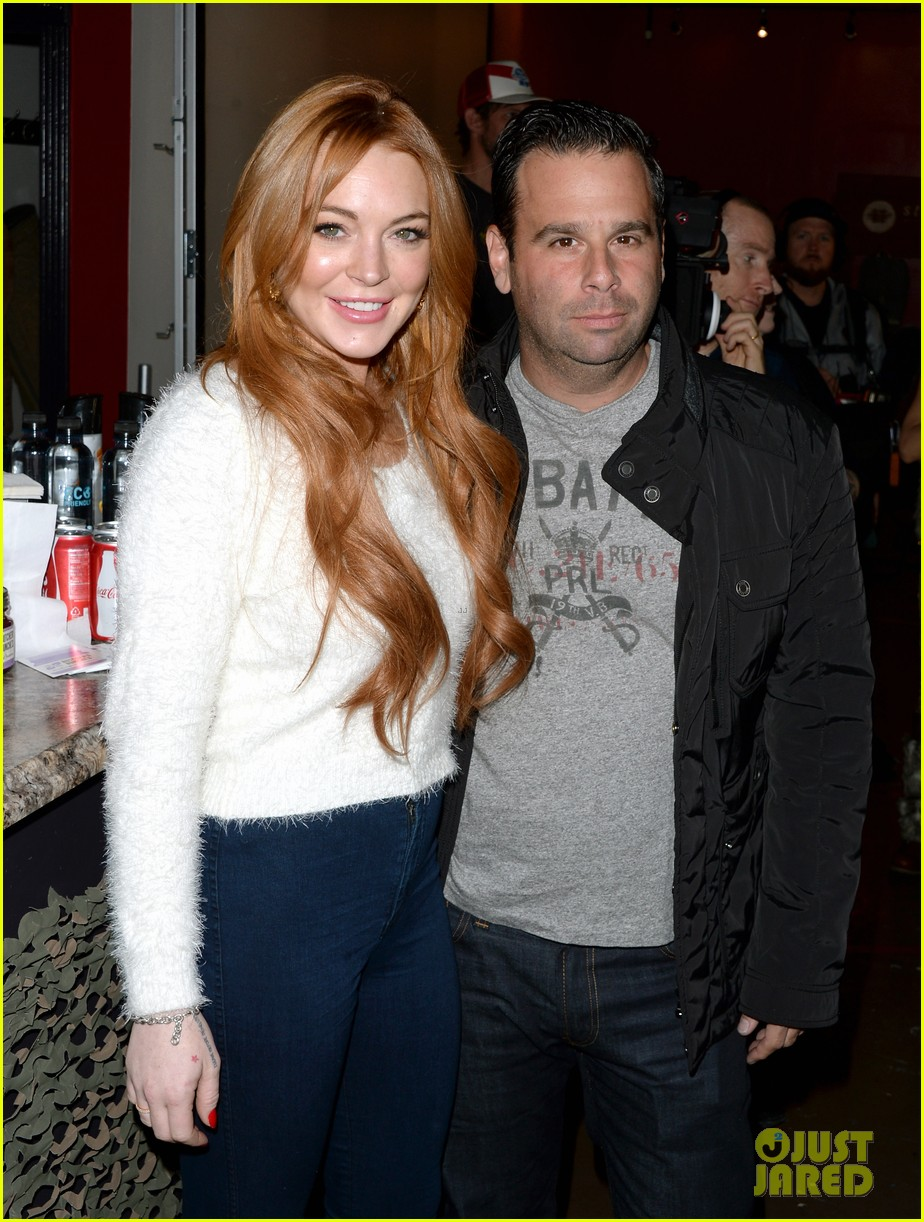lindsay lohan announces new film inconceivable at sundance 04