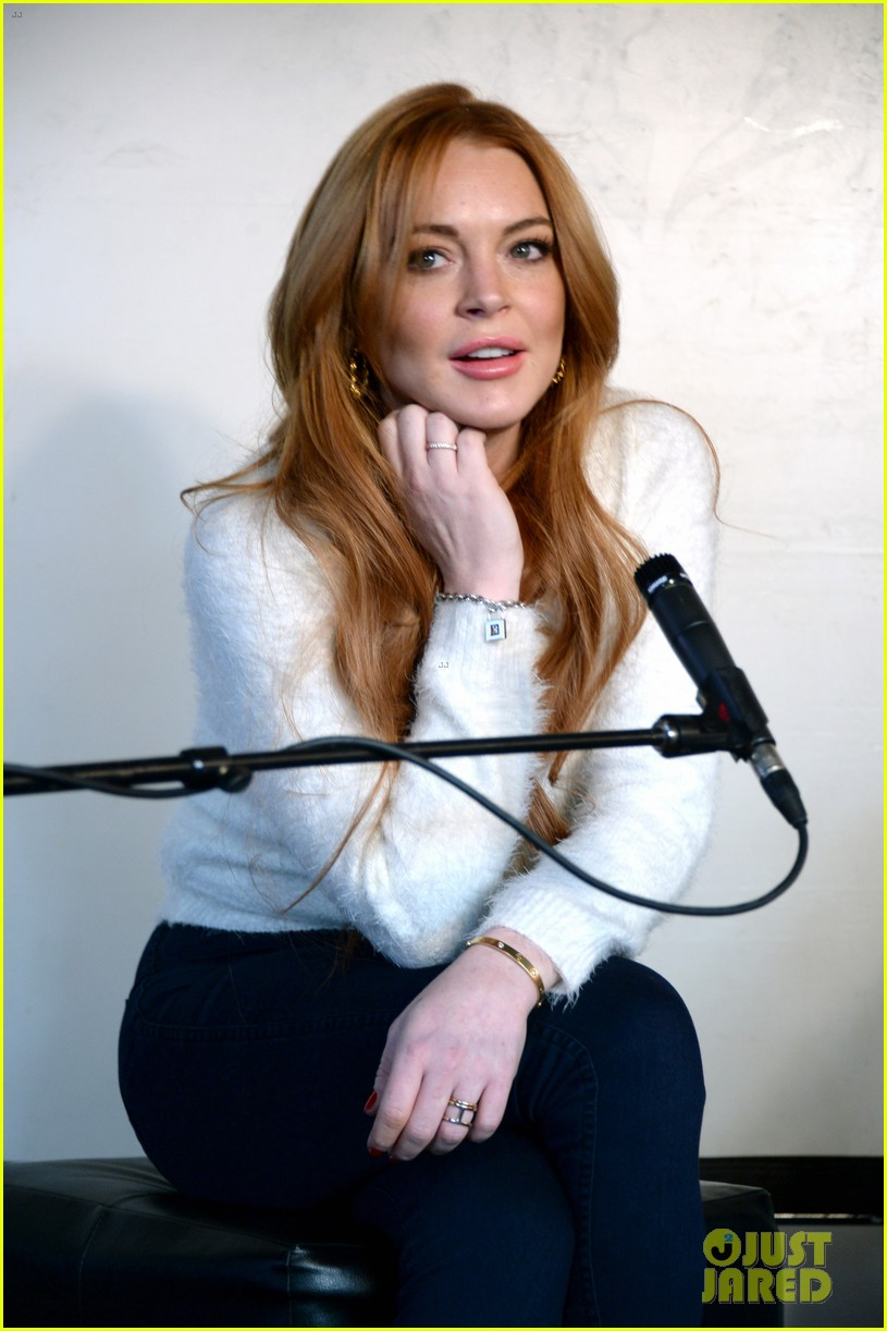 lindsay lohan announces new film inconceivable at sundance 21