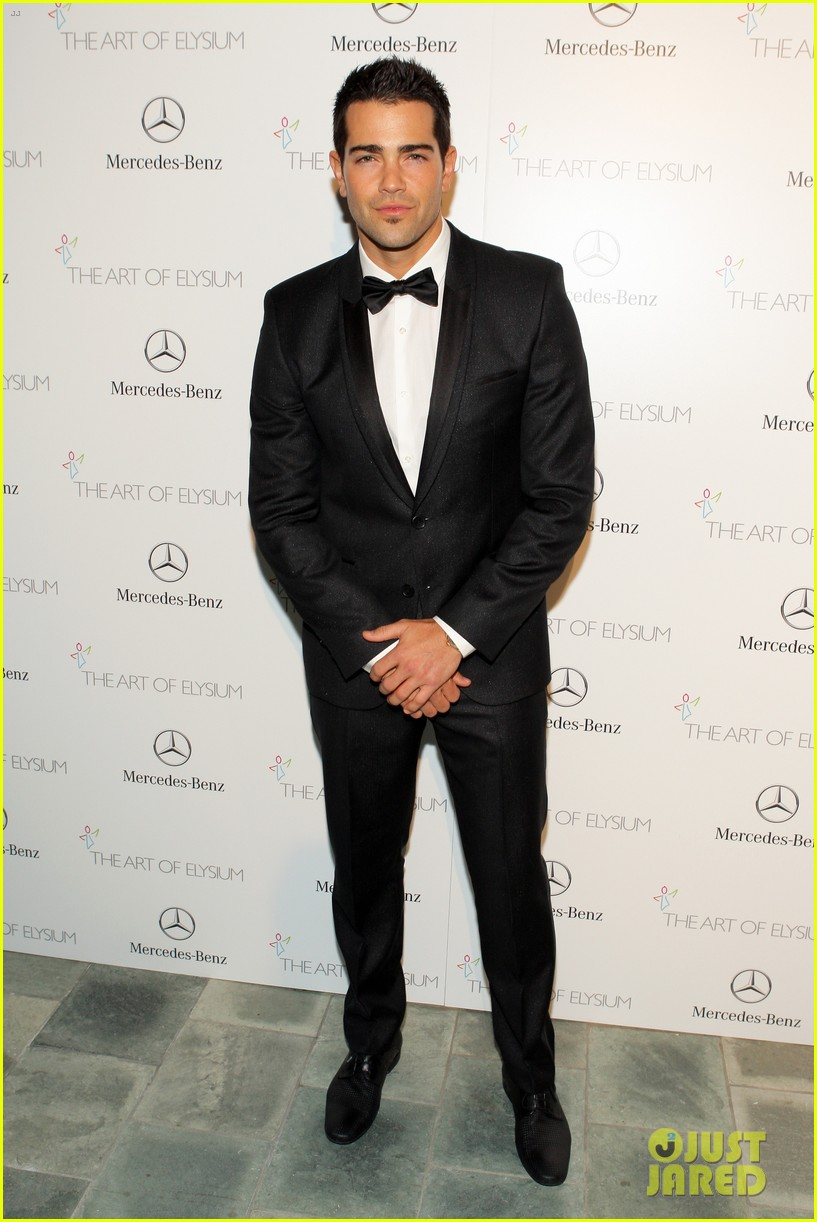 ashley madekwe jesse metcalfe art of elysium gala 2014 03