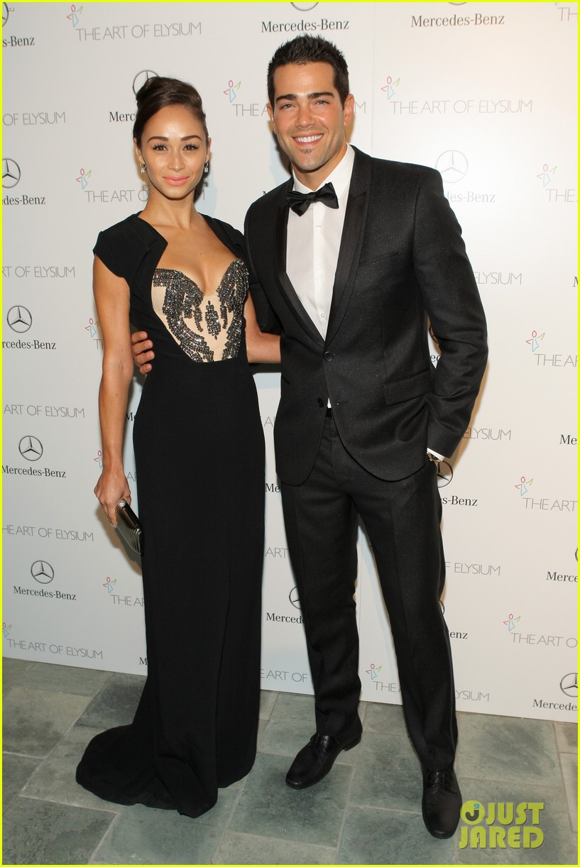 ashley madekwe jesse metcalfe art of elysium gala 2014 11