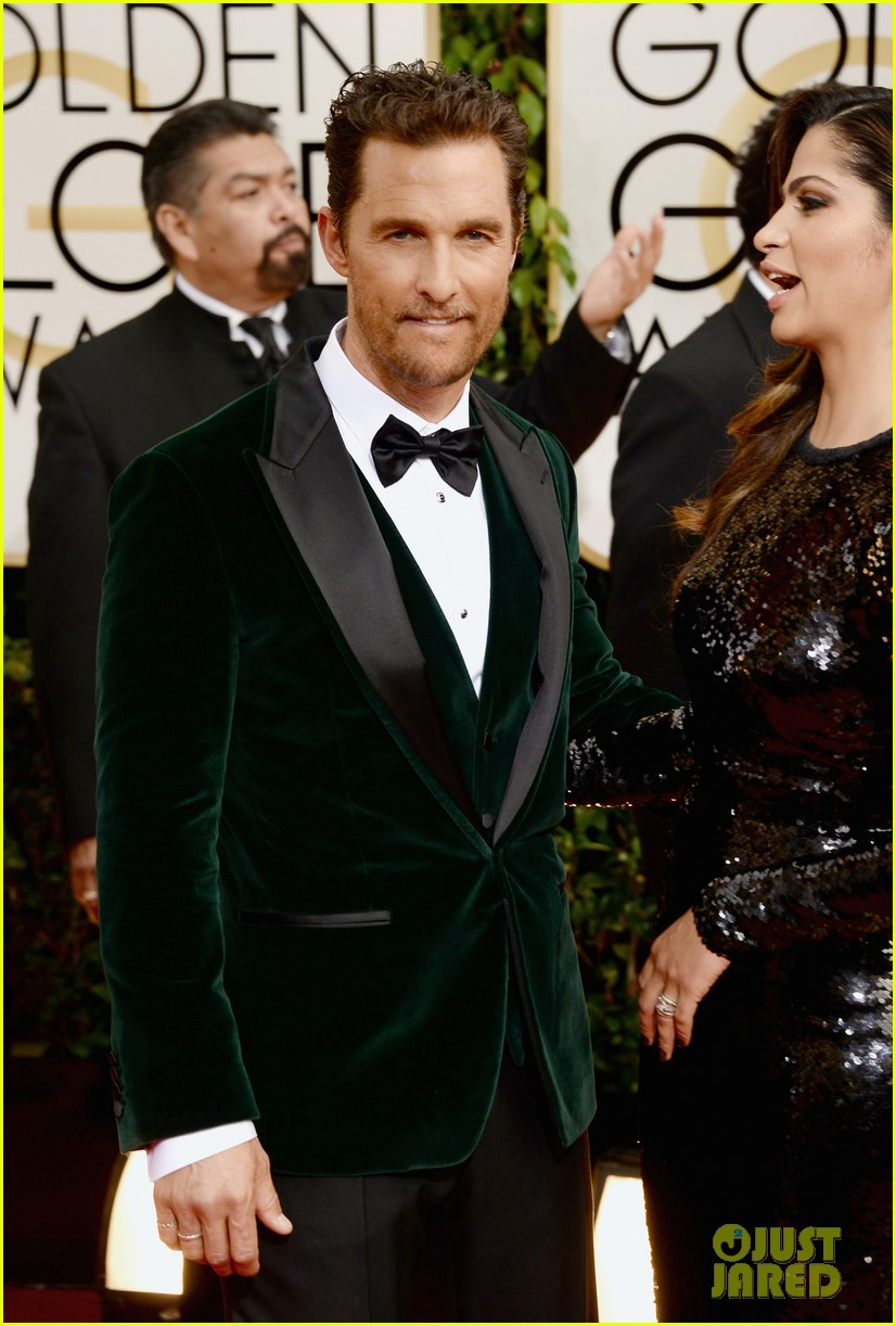 matthew mcconaughey golden globes 2014 with camila alves 043029245