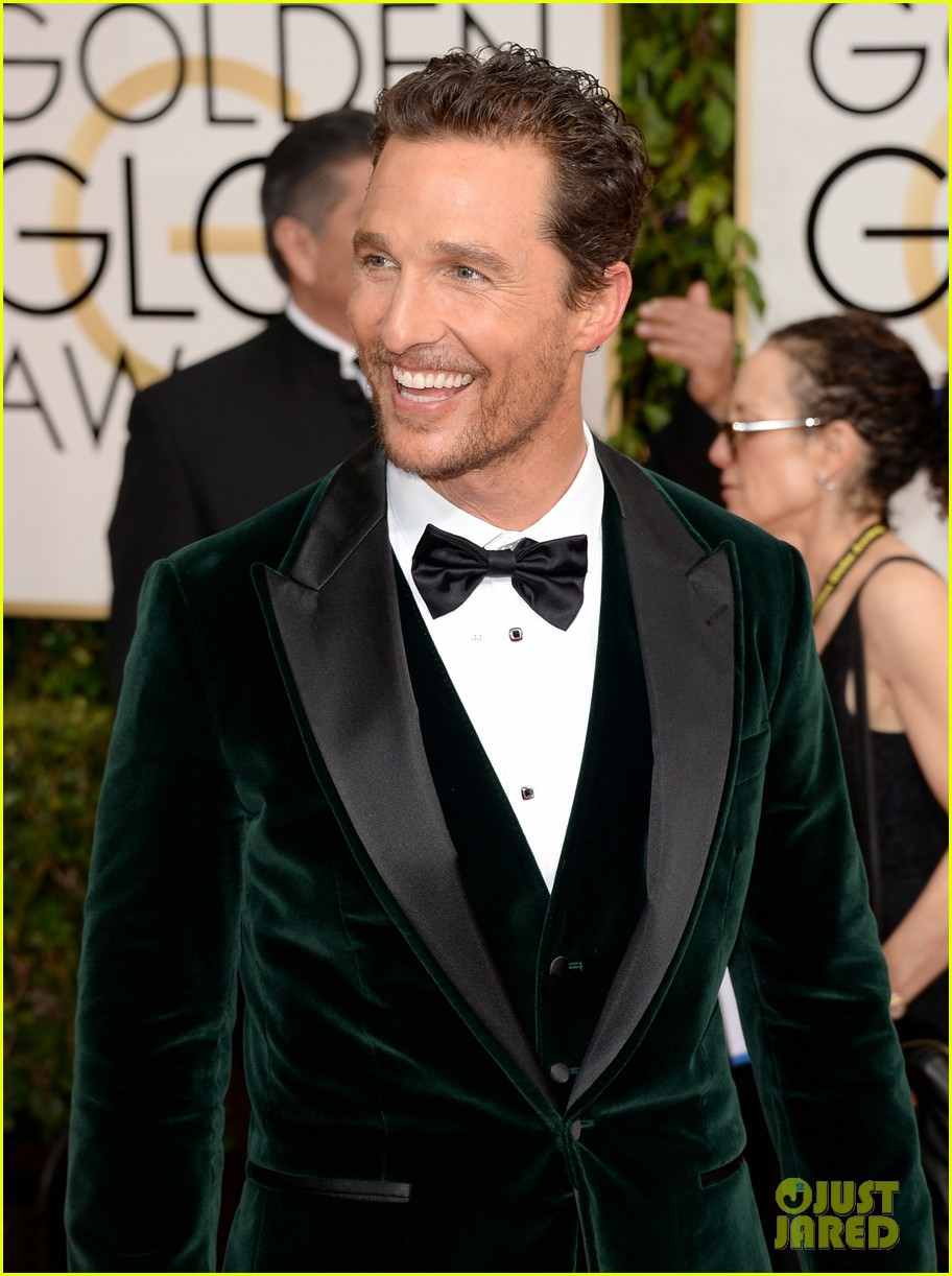 matthew mcconaughey golden globes 2014 with camila alves 05