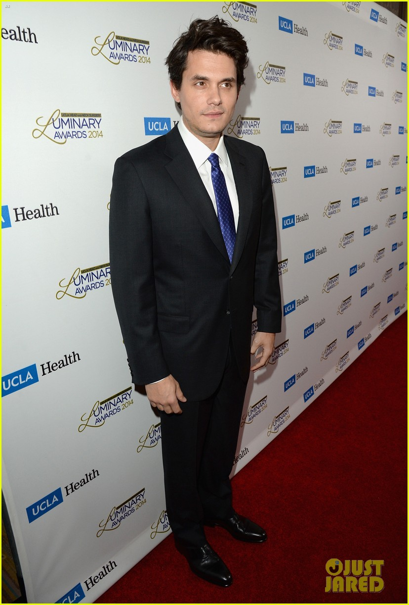 john mayer celine dion ucla luminary awards 2014 01