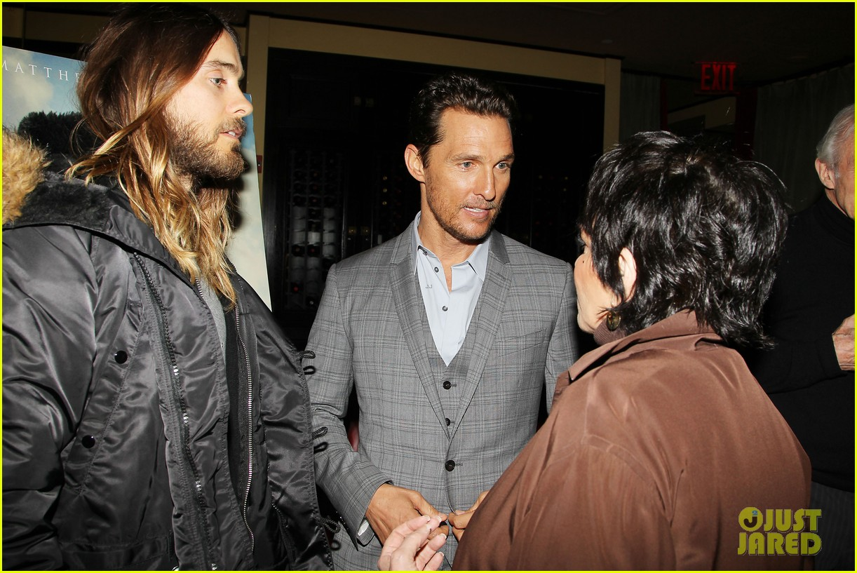 matthew mcconaughey jared leto dallas luncheon in nyc 123023870