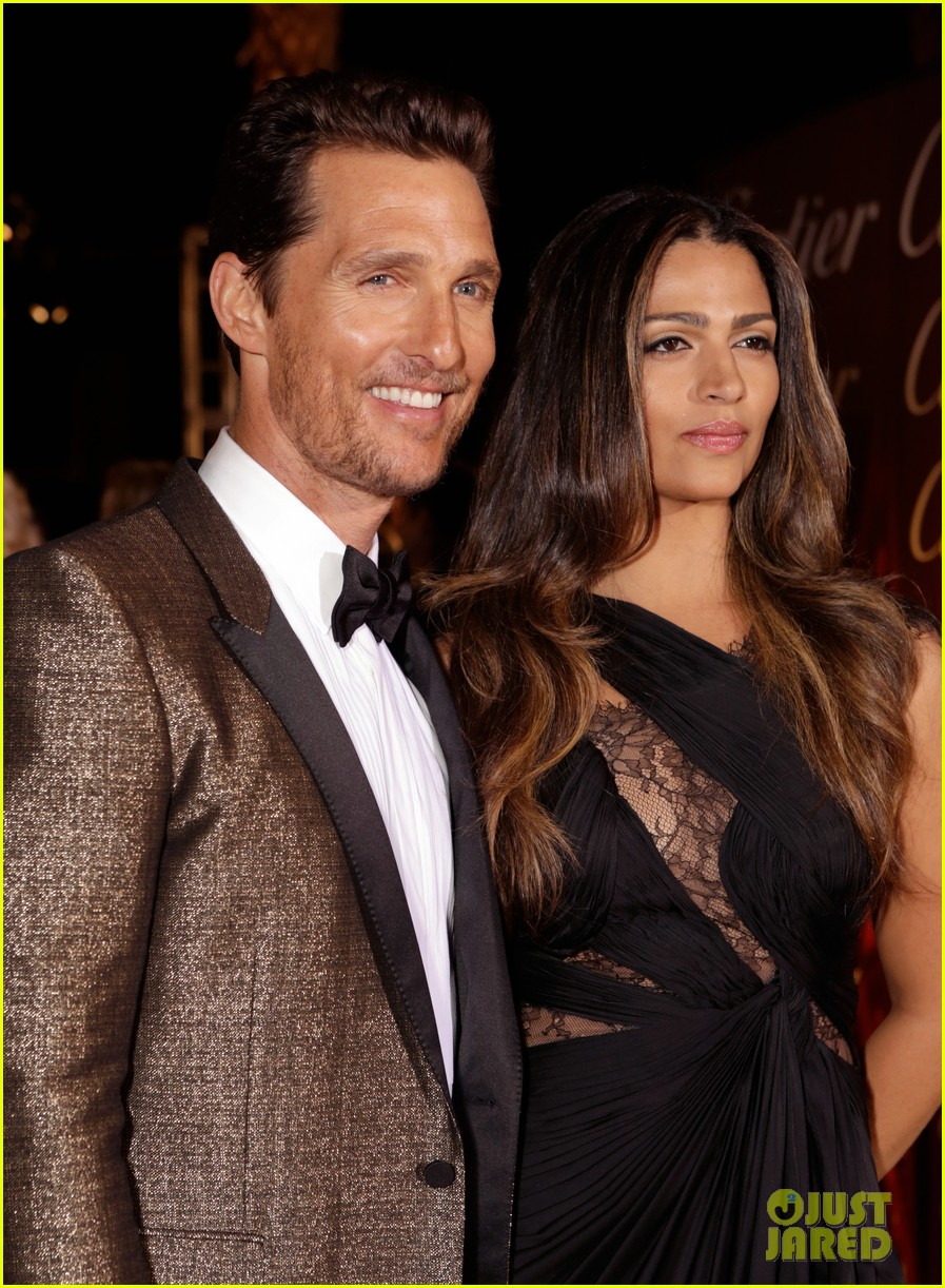 matthew mcconaughey camila alves palm springs film festival awards gala 2014 12