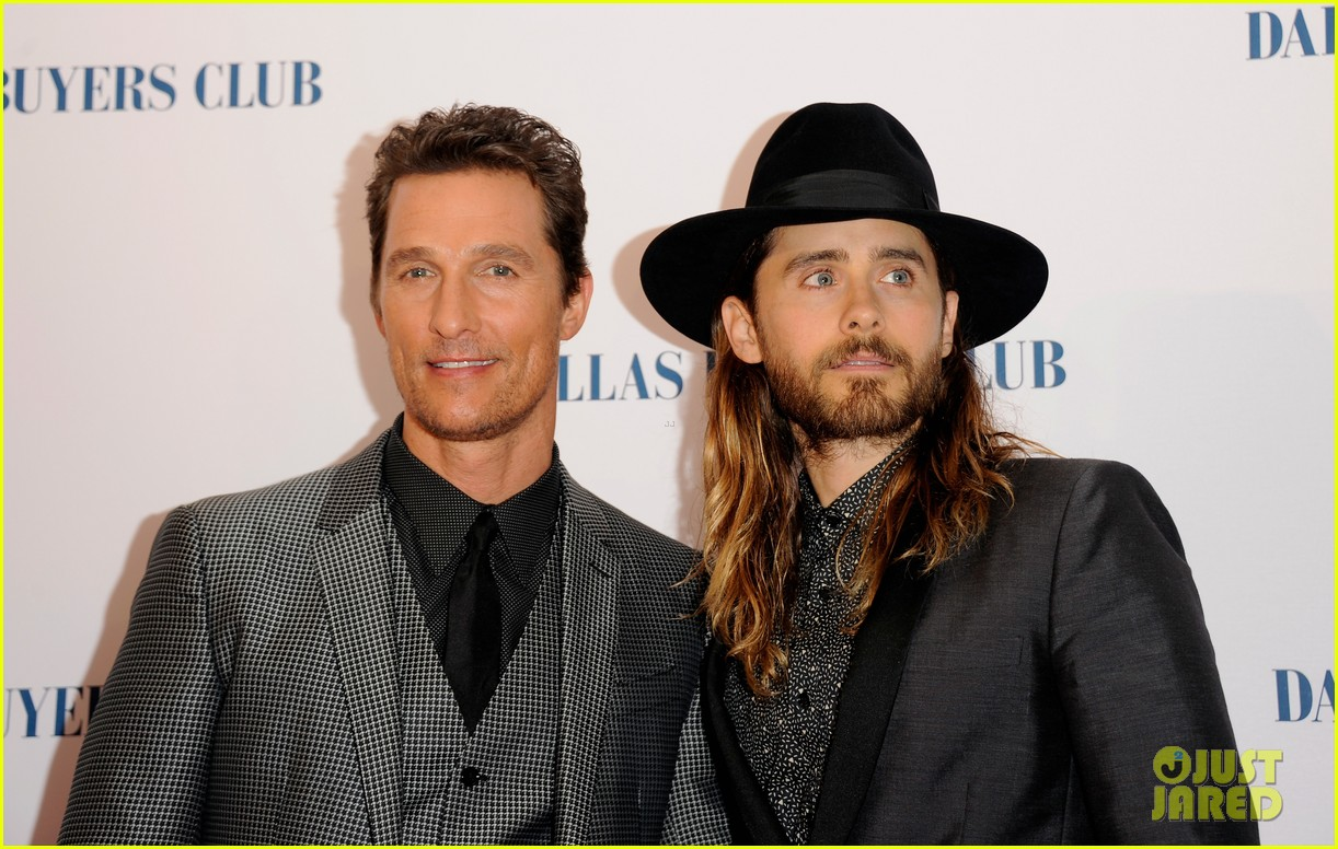matthew mcconaughey jared leto reunite for dallas buyers club uk premiere 06