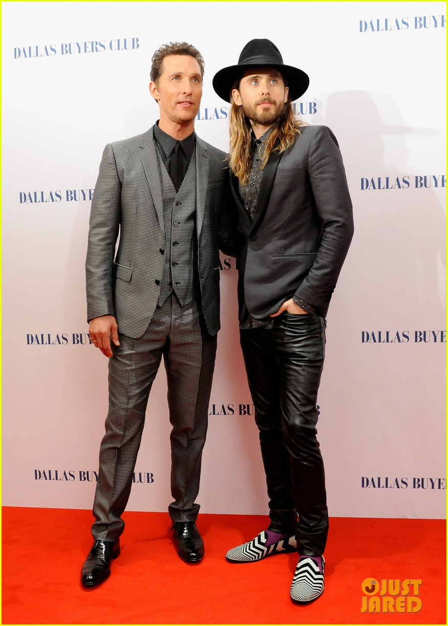 matthew mcconaughey jared leto reunite for dallas buyers club uk premiere 123043622