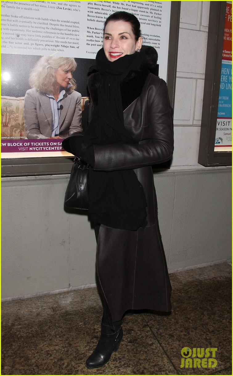 julianna margulies supports debra messings opening night 153039088