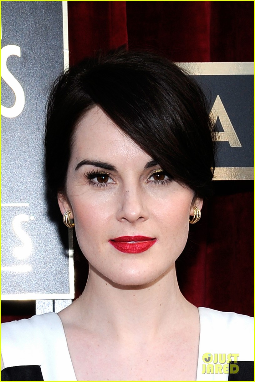 michelle dockery sag awards 2014 red carpet 02