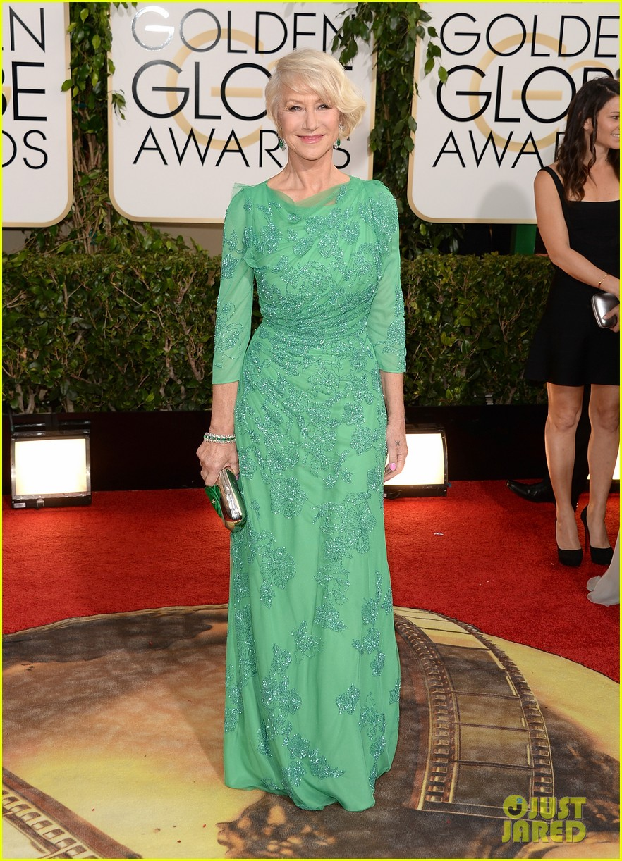 helen mirren golden globes 2014 red carpet 013029523
