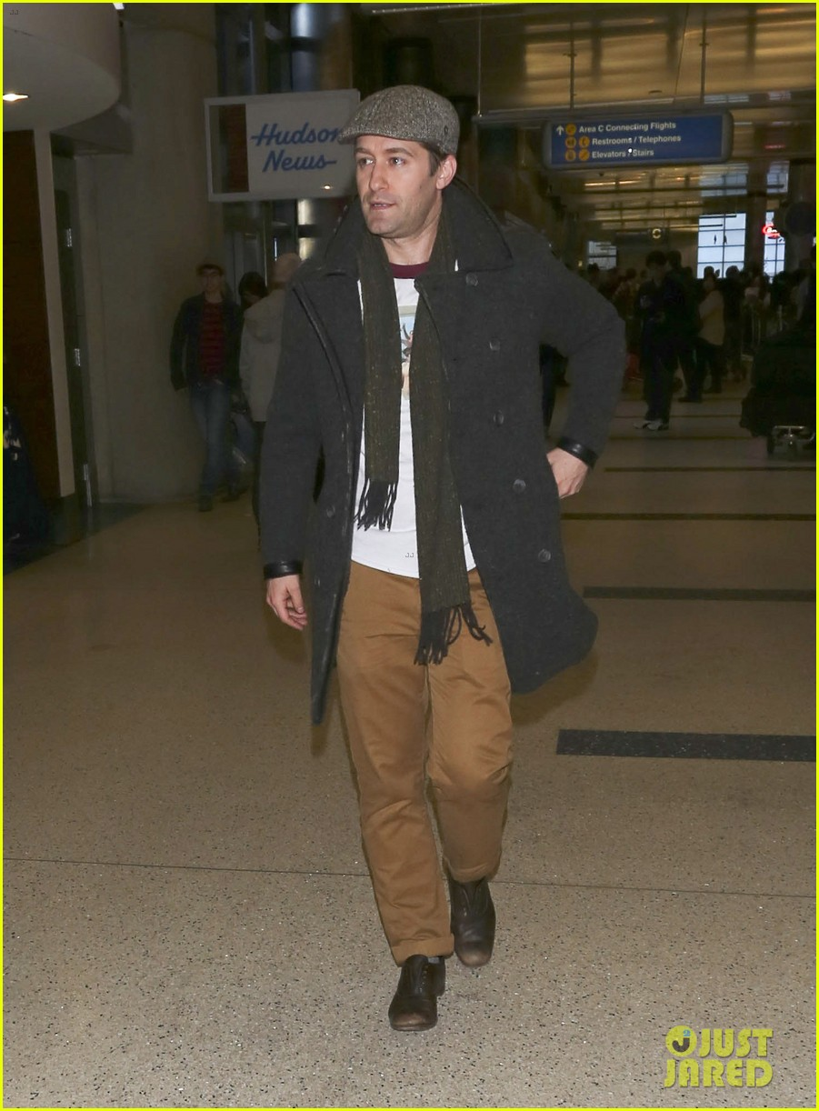 matthew morrison renee puente lax landing with jc chasez 033021816