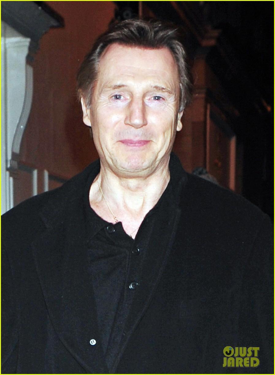 liam neeson girlfriend freya st johnston date night in london 01