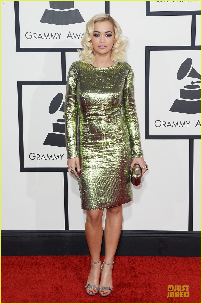 rita ora grammys 2014 red carpet 01