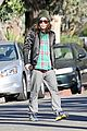 ellen page car fixing gal after gym workout 07