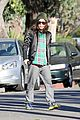 ellen page car fixing gal after gym workout 10