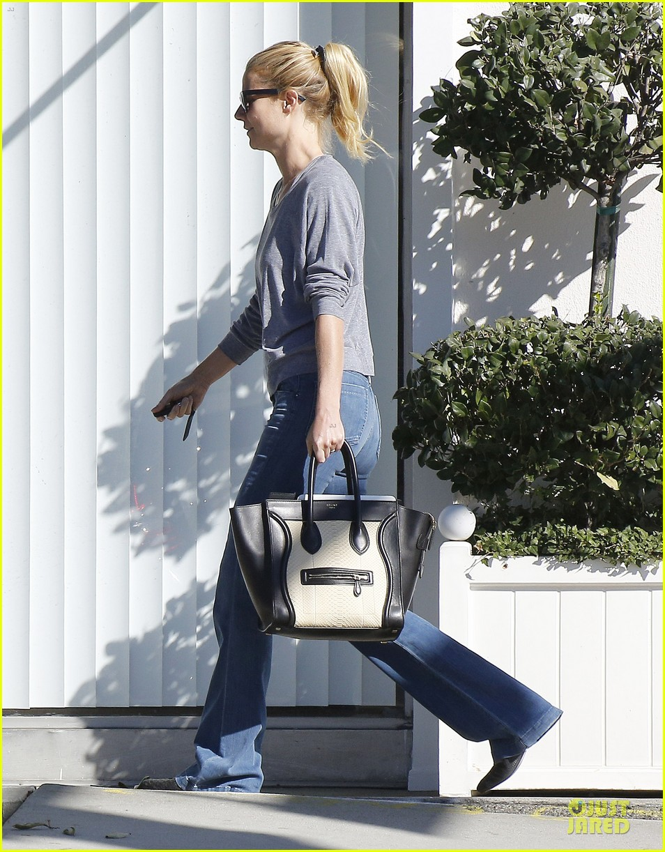 gwyneth paltrow medical building visit after the golden globes 213033866