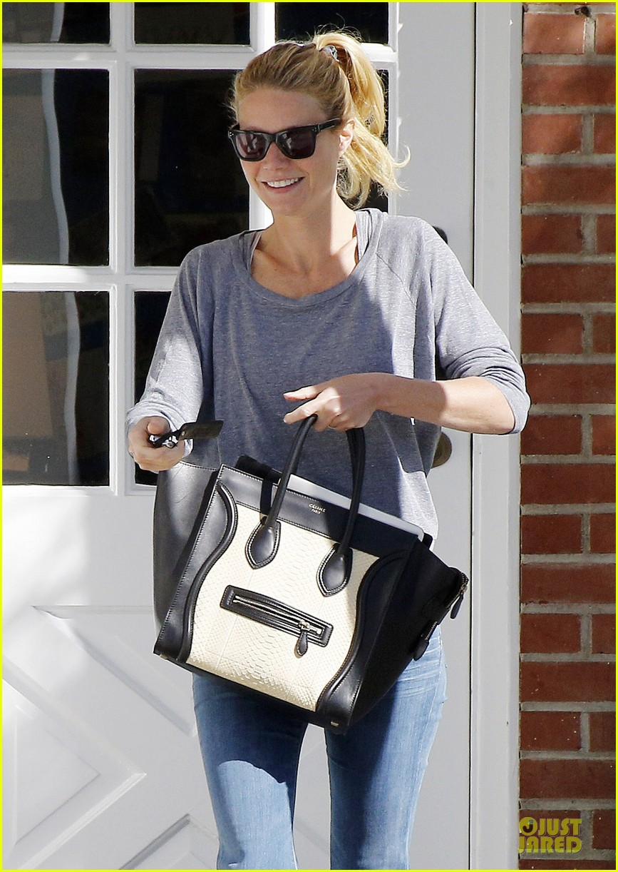 gwyneth paltrow medical building visit after the golden globes 23