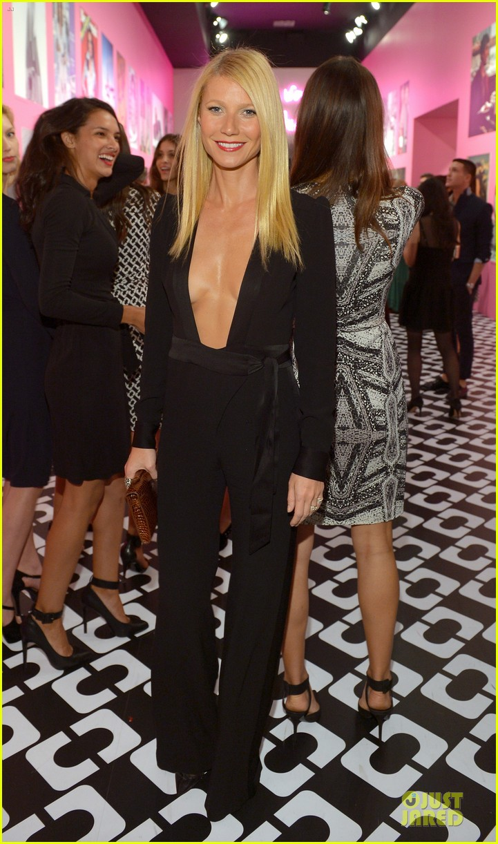 gwyneth paltrow rooney mara journey of a dress exhibition opening 013027876
