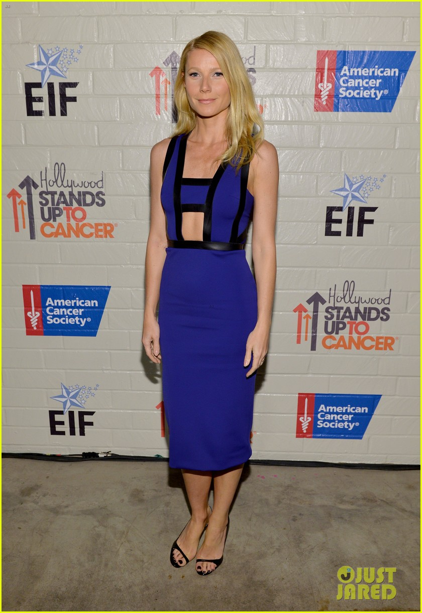 gwyneth paltrow rocks cut out dress to stand up to cancer 013043193