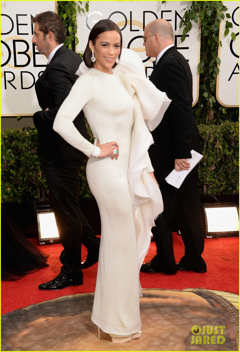 paula patton golden globes 2014 red carpet 013029351