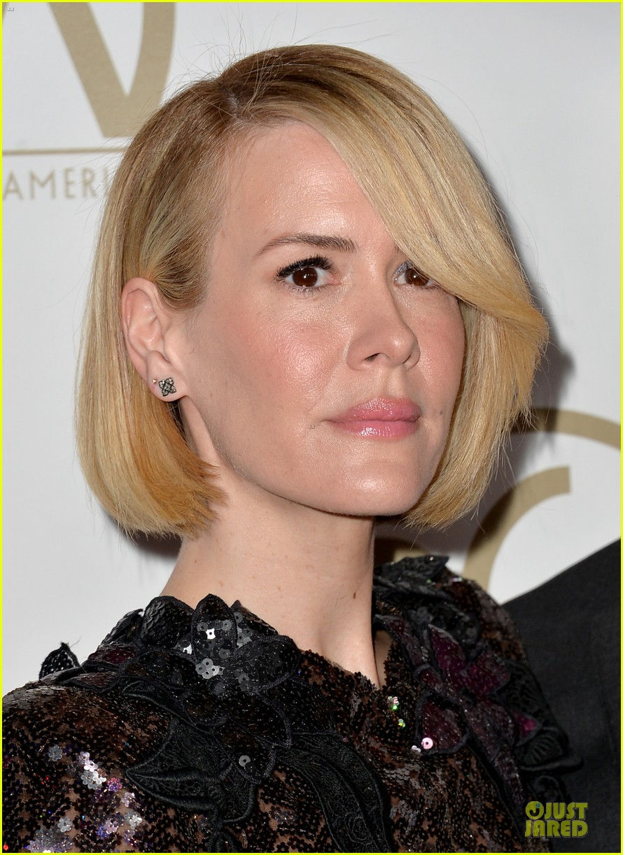 sarah paulson gillian anderson producers guild awards 2014 16