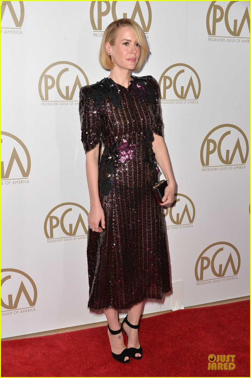 sarah paulson gillian anderson producers guild awards 2014 21
