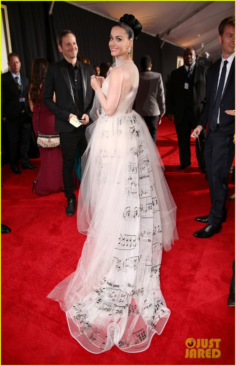 katy perry grammys 2014 red carpet 08