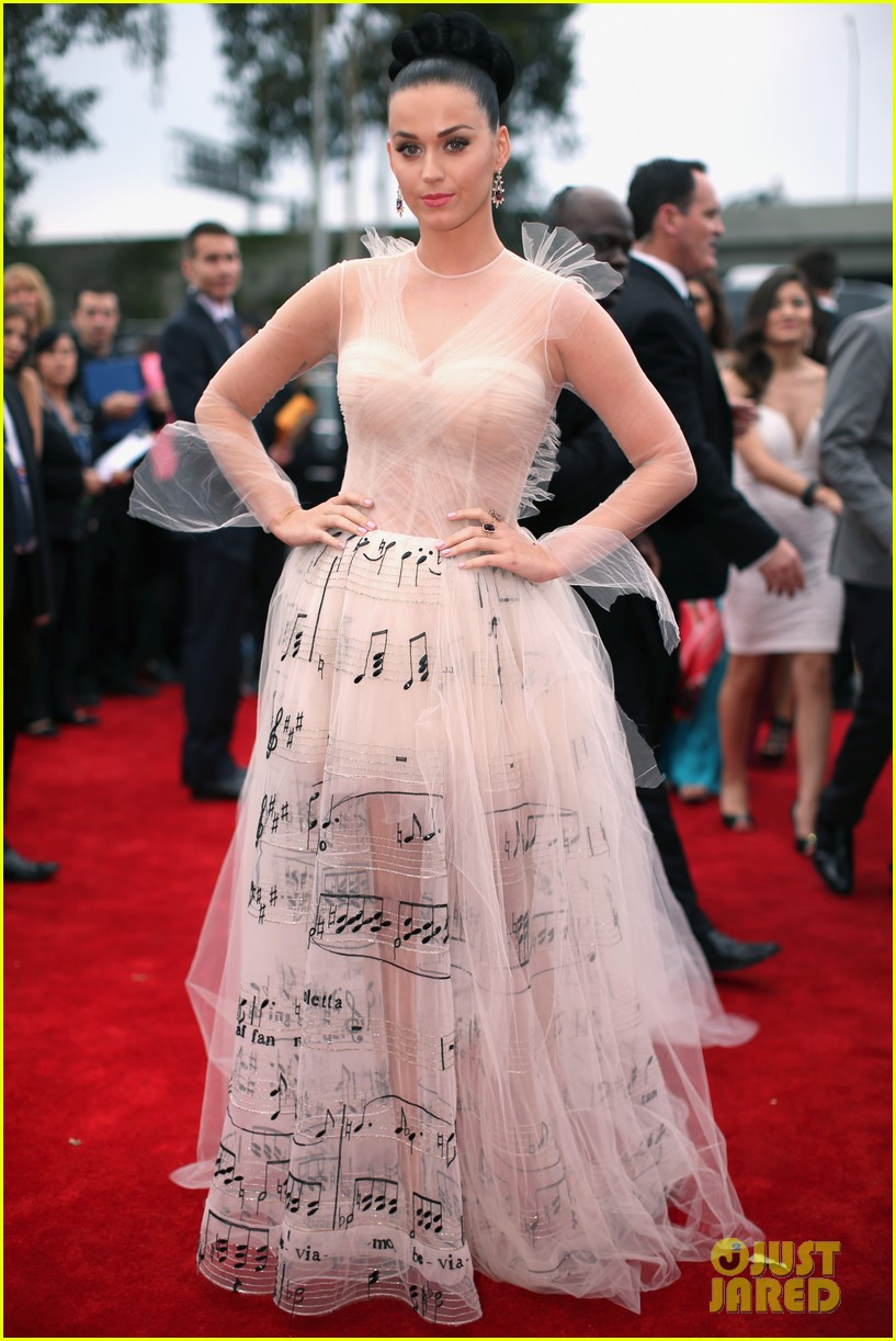 katy perry grammys 2014 red carpet 12