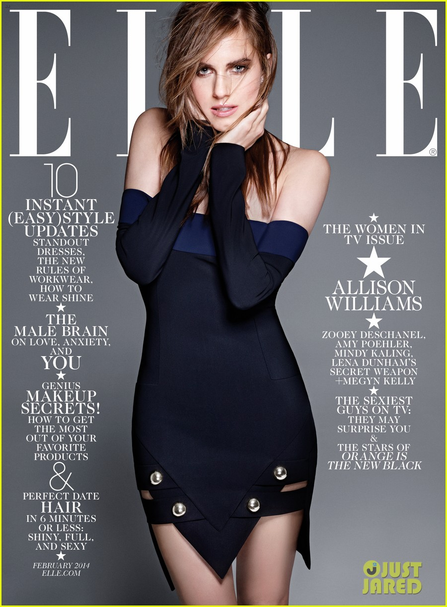 amy poehler mindy kaling more cover elle tv issue 01