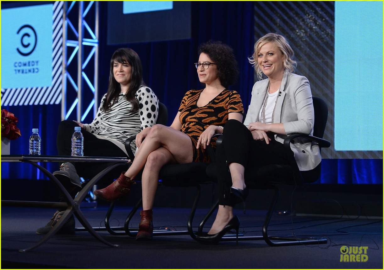 amy poehler comedy central tca winter tour panel 03