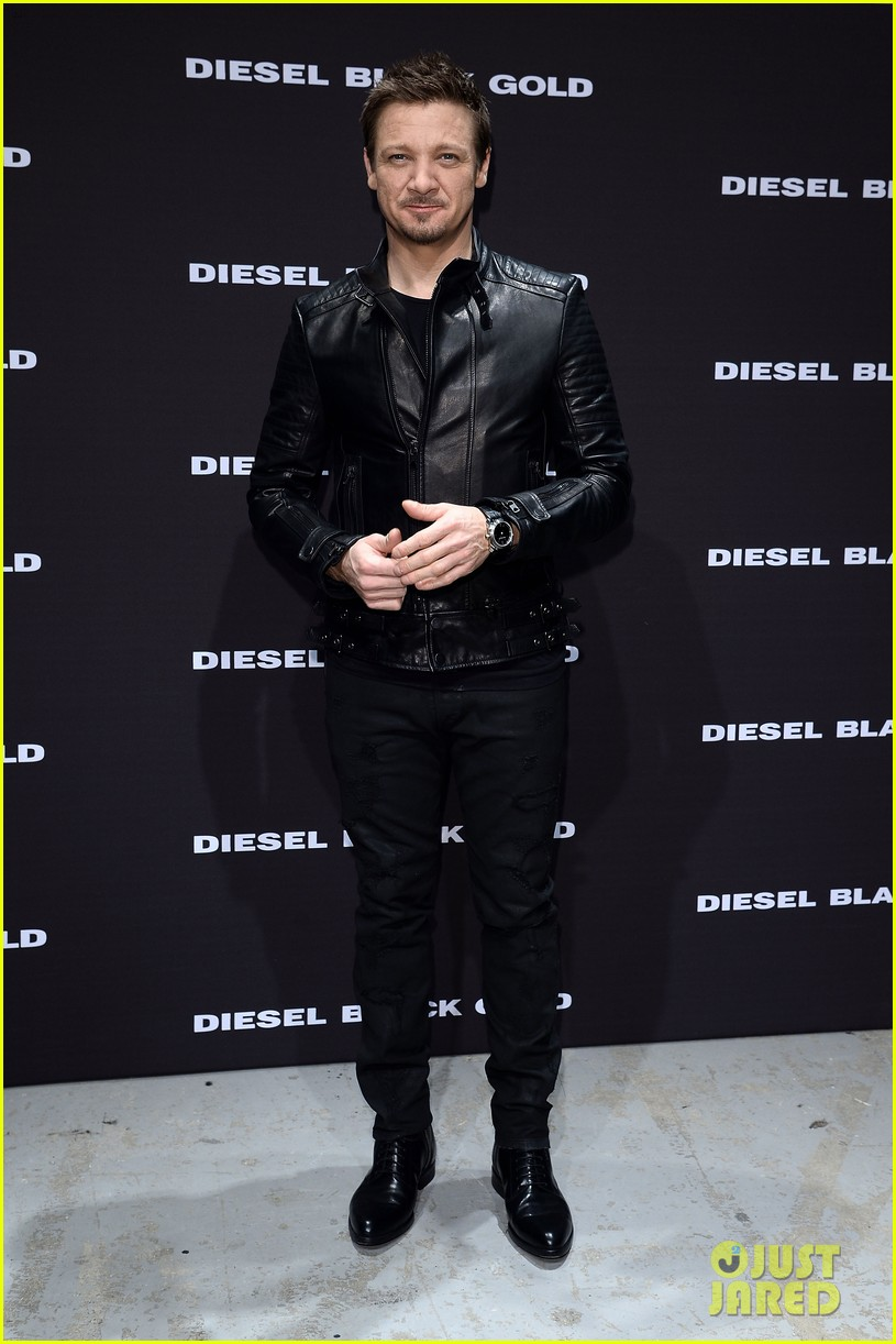 jeremy renner diesel black gold fashion show in florence 05