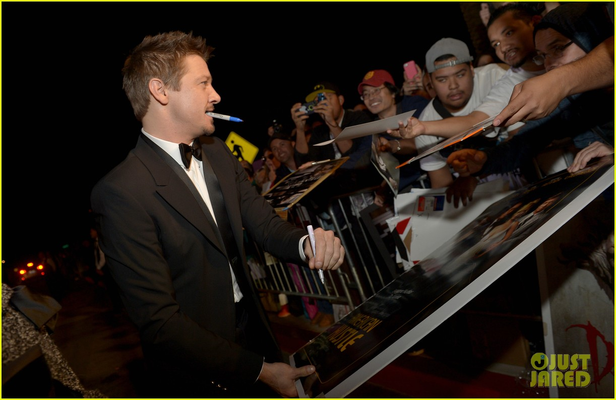jeremy renner elisabeth rohm palm springs film festival awards gala 2014 11