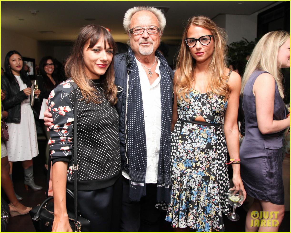 nicole richie rashida jones charlotte ronsons vogue eyewear launch party 11