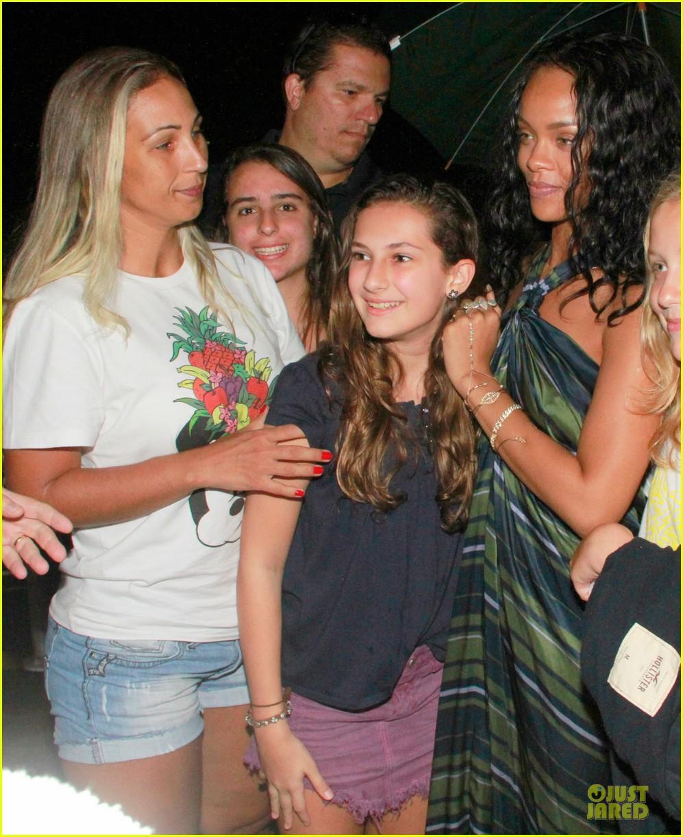 rihanna gold bikini beach babe in brazil 093036007