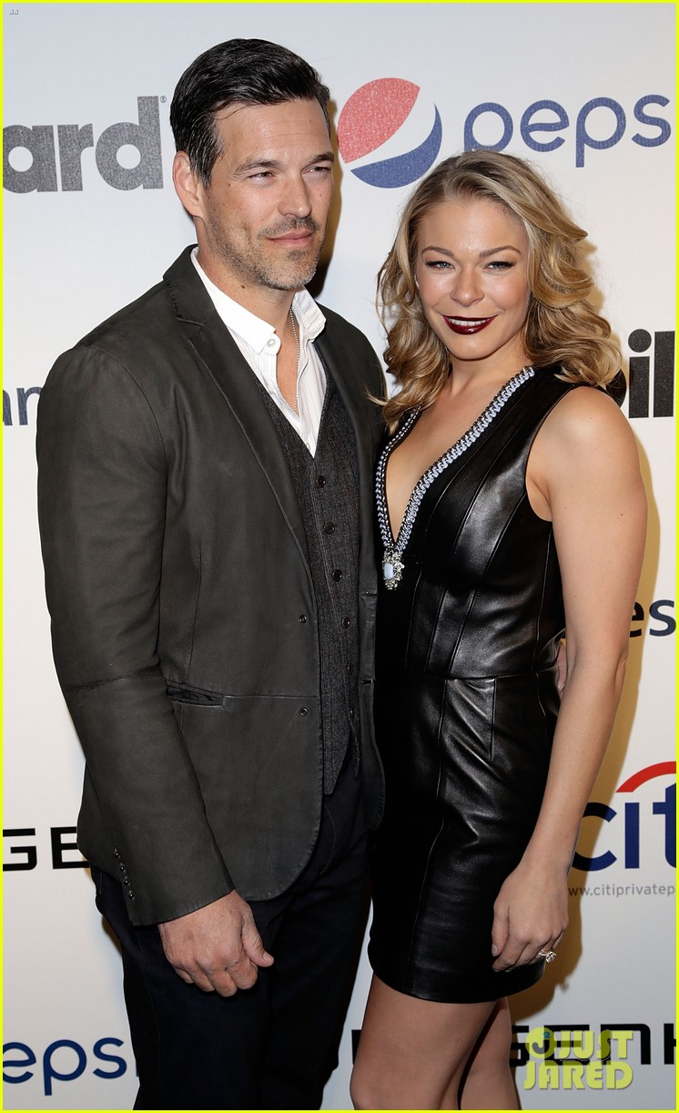 leann rimes billboards power 100 event with eddie cibrian 243038927