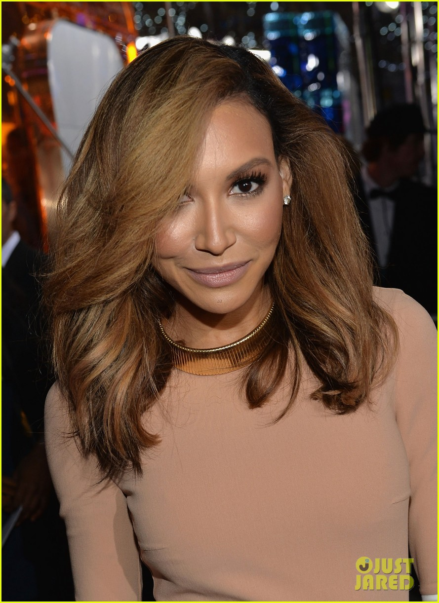 naya rivera goes blonde at peoples choice awards 2014 07