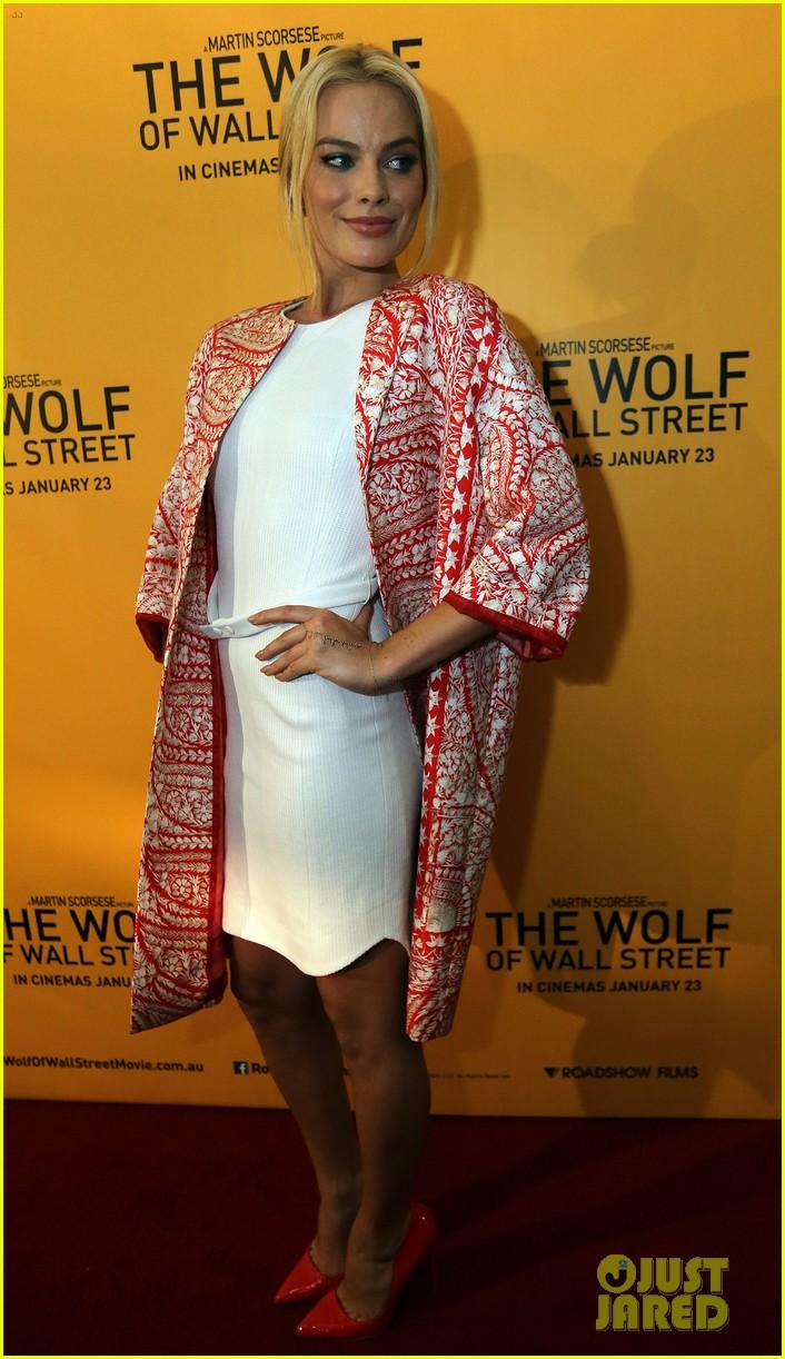 margot robbie wolf of wall street brisbane premiere 24