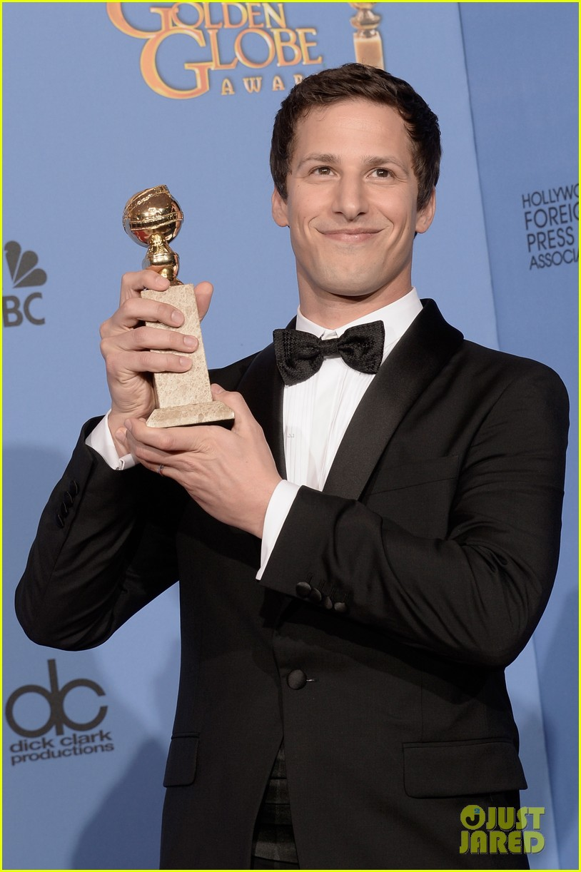 andy samberg wins best actor at golden globes 2014 023029637