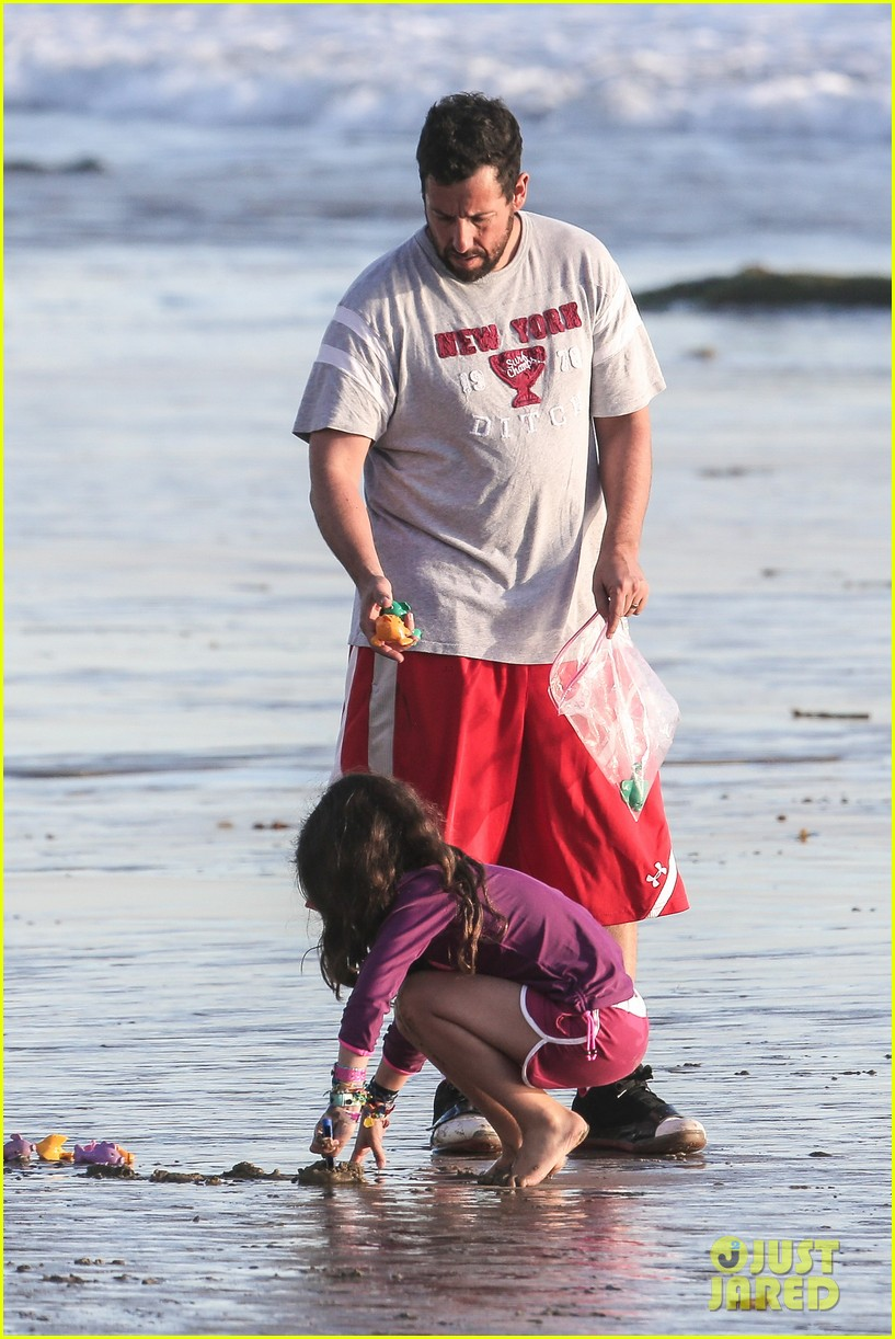 adam sandler back on west coast after hawaii trip 02