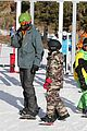 seal spends first day of 2014 snowboarding with the kids 03