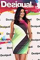 irina shayk presents new desigual campaign in spain 06