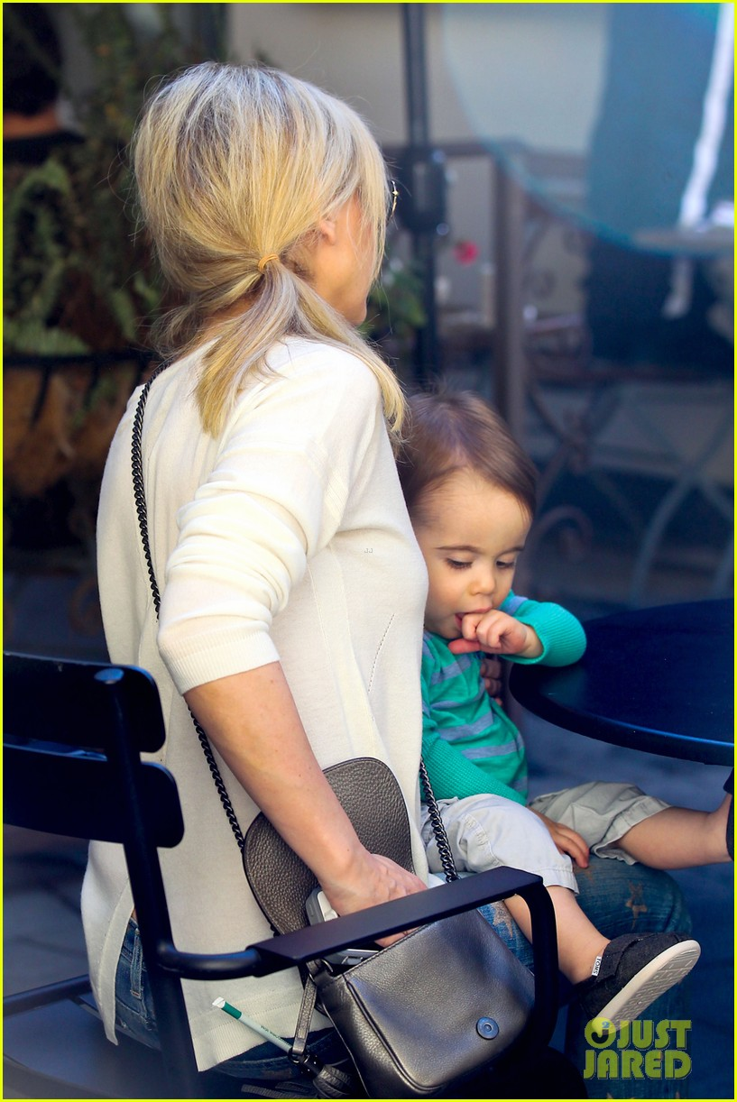 sarah michelle gellar hangs with adorable son rocky 08