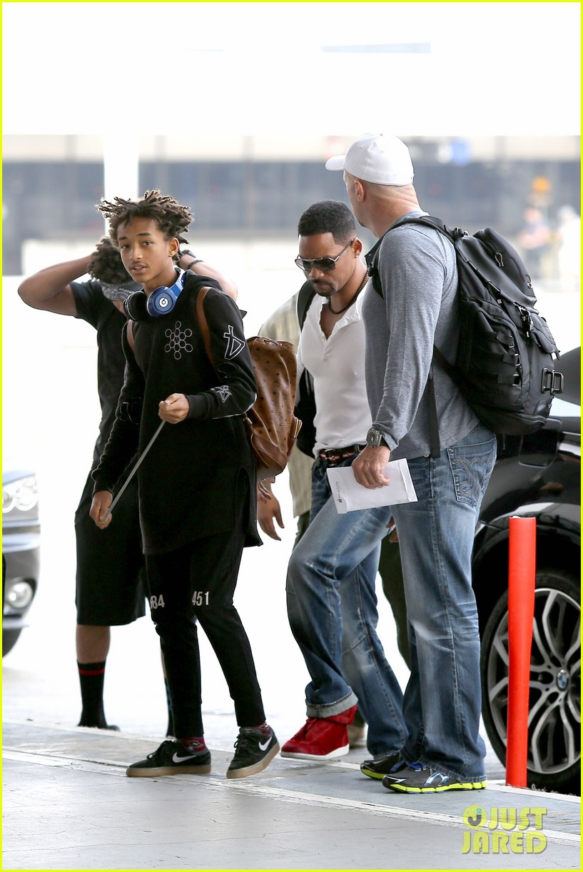 buff will smith takes jaden out of town 17
