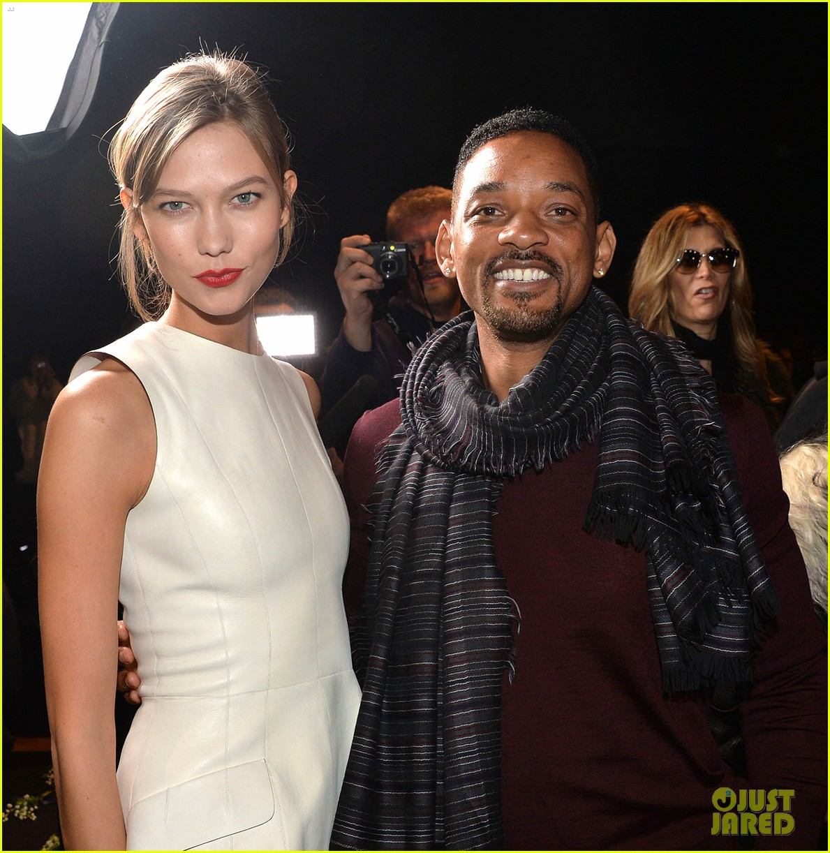 will smith karlie kloss dior homme fashion show 14