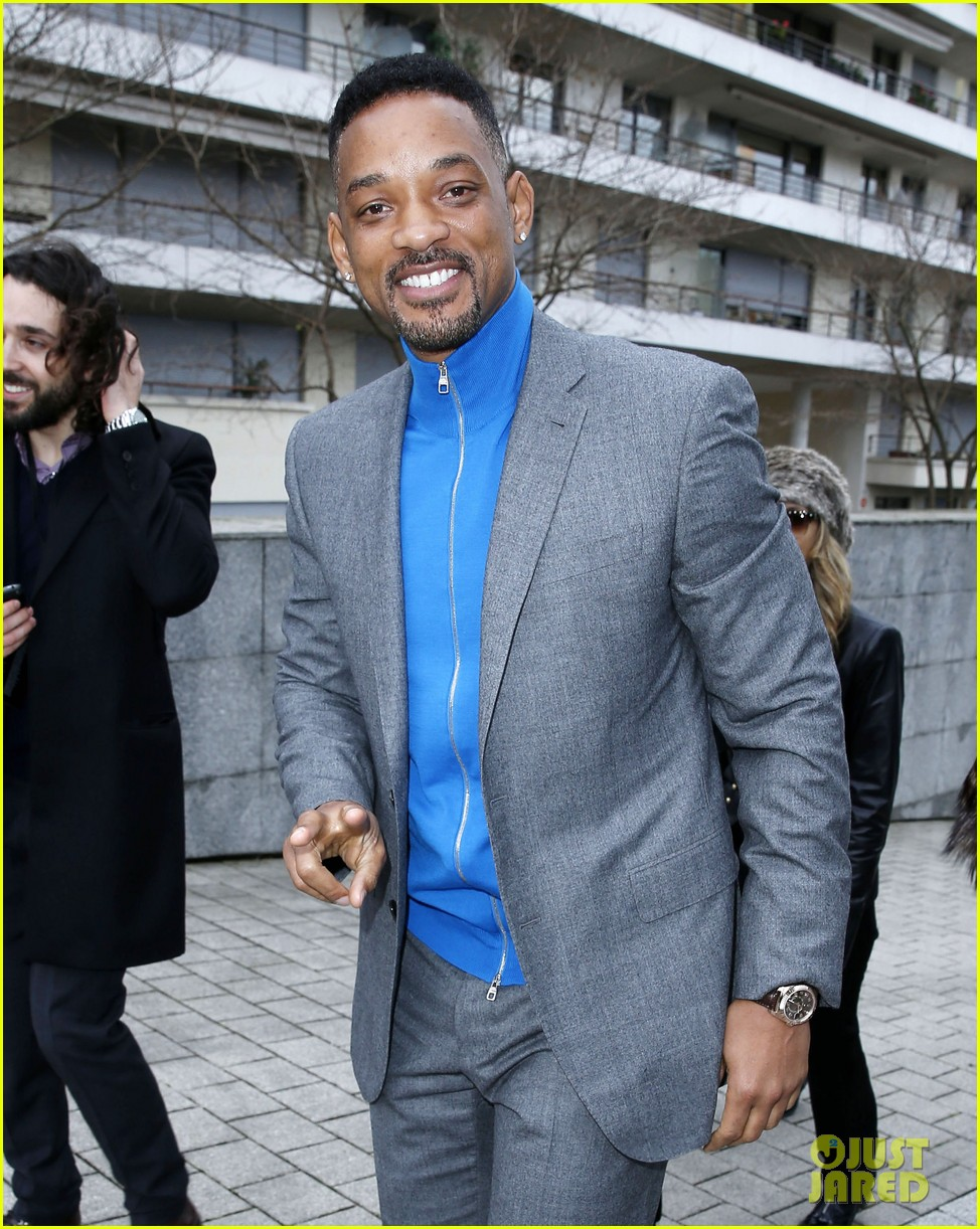 will smith lily allen louis vuitton fashion show 073032647