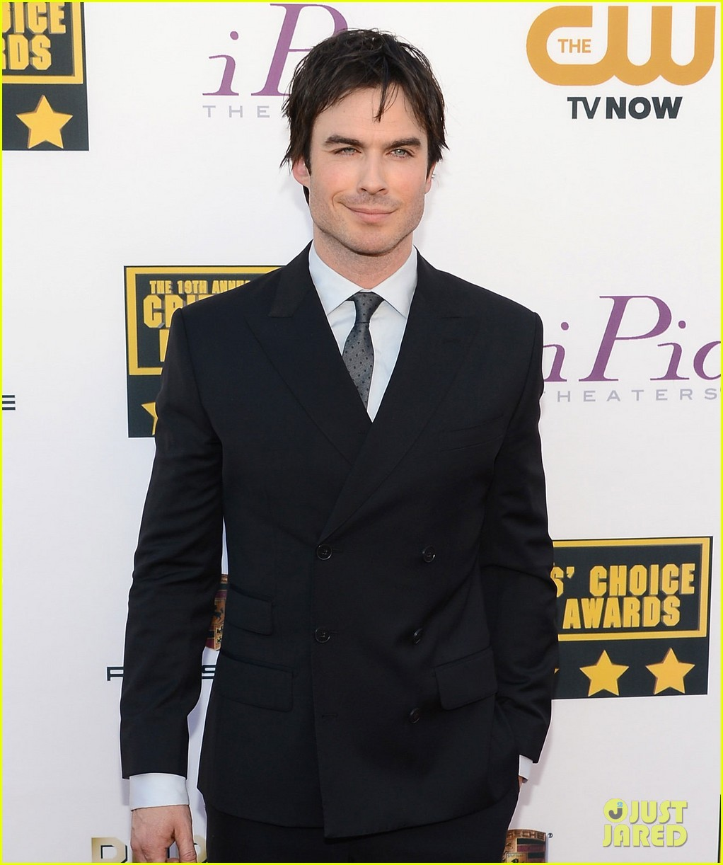 ian somerhalder critics choice movie awards 2014 red carpet 063032951