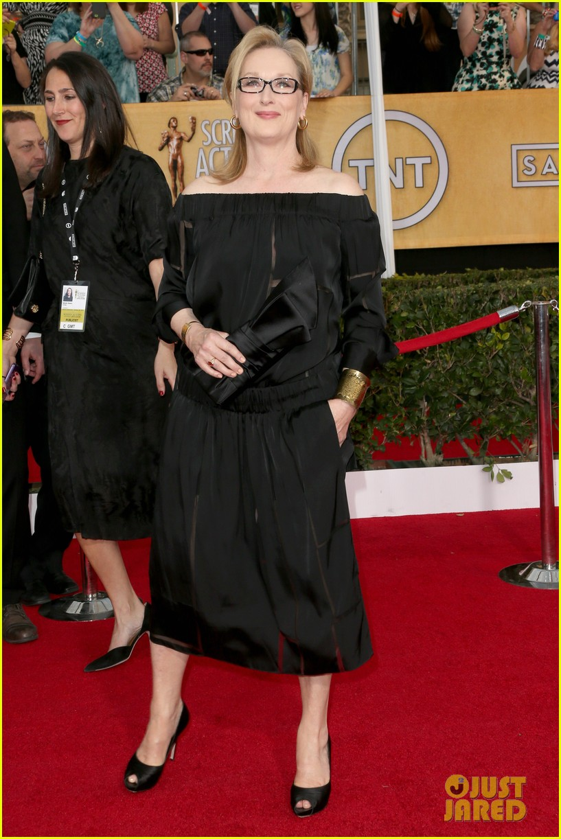 meryl streep sag awards 2014 red carpet 023034682